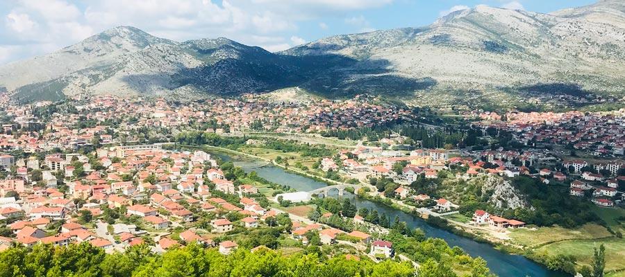 Путешествие из Черногории в Боснию и Герцеговину