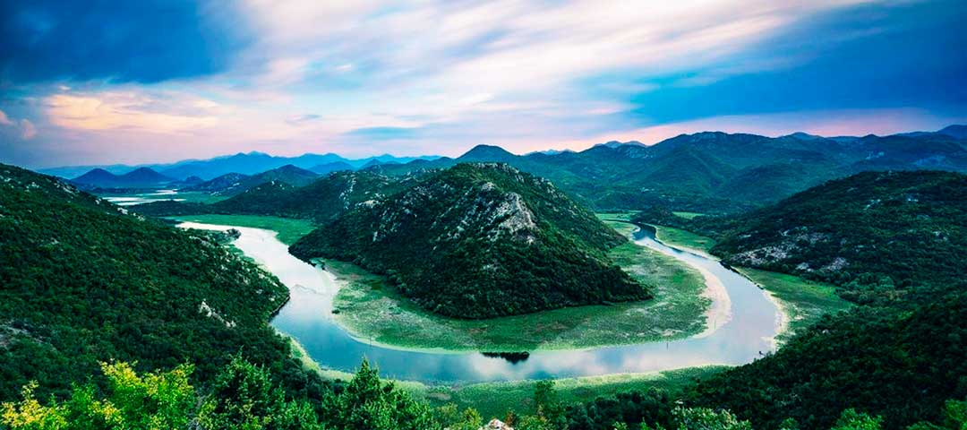 Риека Црноевича и Скадарское озеро